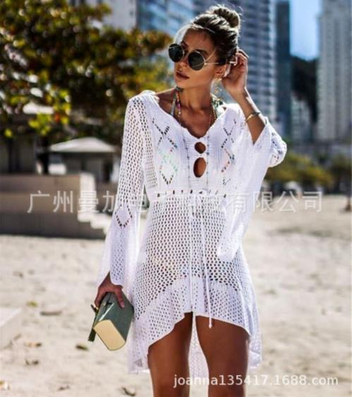 new hot women's split swimsuit high waist sexy solid color printing sexy swimsuit suit bikini suit tights summer water sports swimwear #0108