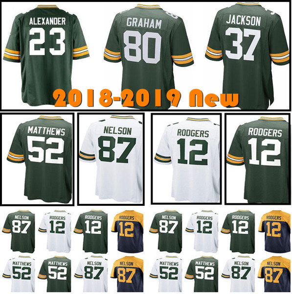84c6ae2cb 17 Davante Adams 23 Jaire Alexander Green Bays 12 Aaron Rodgers Packer 80  Jimmy Graham 37