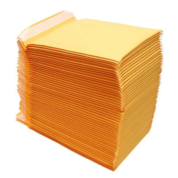 Kraft Bubble Mailers Padded Envelopes Shipping Bags Self Seal High Quality Bubble Envelope Bag Business School Office Supplies