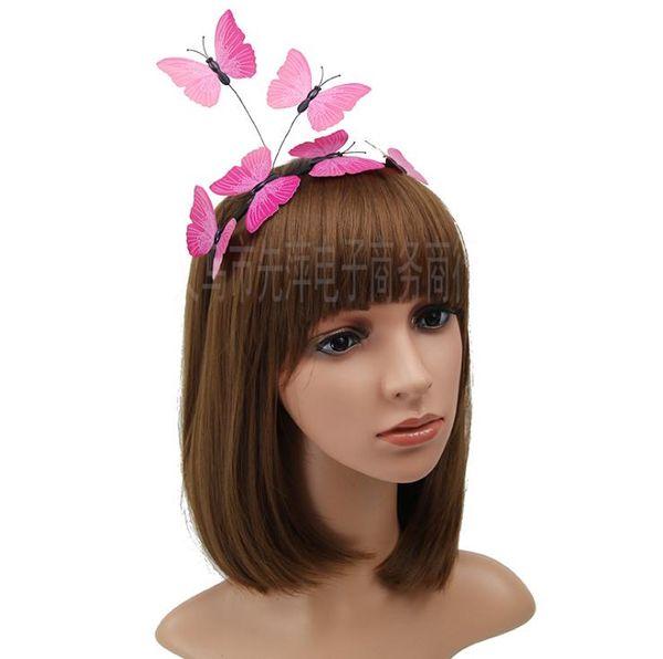 Headwear Party Headwear Hair Hoop Butterfly Hair Hoop