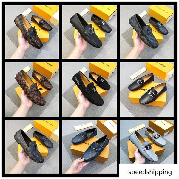 2019 A4 33 Style Lbrands Dress Shoes High End Luxury Italian Style Fashion  Men Formal Shoes Brands Trend Plus Size Business Leather From