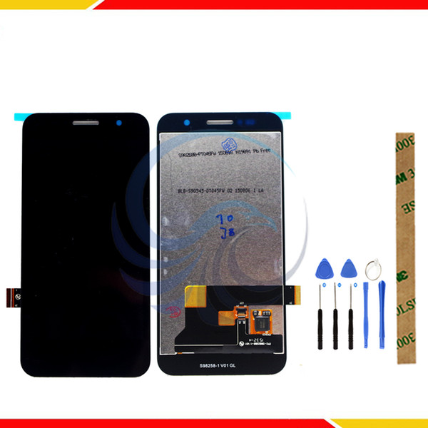 Tested LCD Display Screen For ZTE Blade Apex 2 Q505 LCD Display With Touch Screen Complete assembly