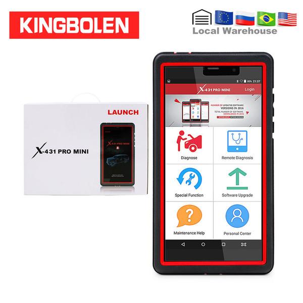 LAUNCH X431 Pro Mini OBD Diagnostic Tool Full System 1 year free update Mini X-431 PRO pros DBSCAR III Programming Auto Scanner