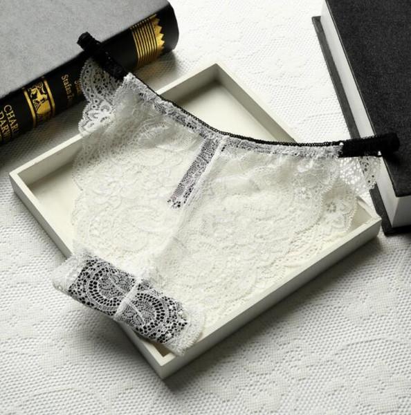 women lace transparent Briefs Floral Sheer Underwear Soft Lingerie Briefs Panties lace triangle shorts 14 color KKA6511