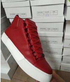 Super Qualidade Red Arena Tênis Vermelho Padrão de Peixe Sapatos Masculinos Sapatilhas Das Mulheres Dos Homens Da Marca de Moda Sapatos 38-46fa66