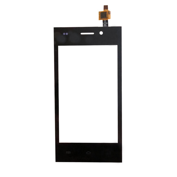 Black Touch Panel Glass For Highscreen Zera F Touch Screen Digitizer Sensor Touchpad Replacement Touchscreen with free type