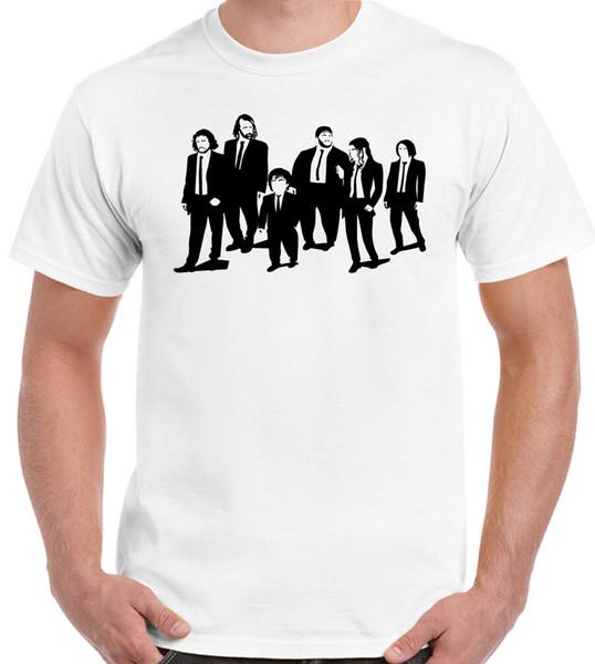 Reservoir Thrones Mens Paródia Engraçada T-Shirt Cães Jogo De Engraçado frete grátis Casual tshirt