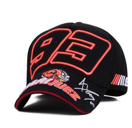 High-end fashion ant 93 hat F1 racing cap men and women baseball cap summer neutral sports hat sun hat