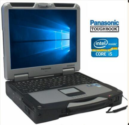 Panasonic Toughbook MK1 CF-31 Core i5 / RAM 4 gb Touchscreen robusto di livello militare per Star C3 / C4 / C5 Icom A2 next alldata