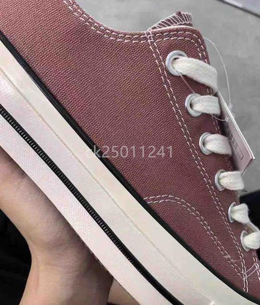 1970-е годы Высокое качество Brand New 20 цветов Высокие Лучшие спортивные звезды Low Top Классический Canvas обуви кроссовки Мужские Женские Повседневный shoesSize 35-44 ck03