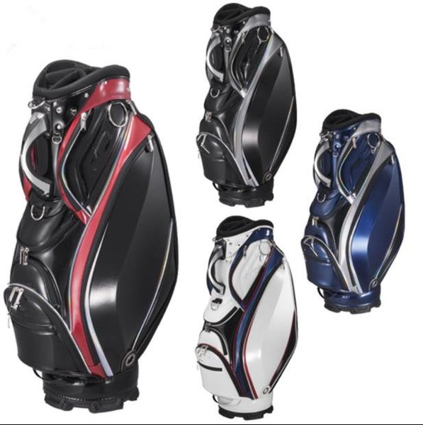 top popular men golf bag women golf bags pu leather golf cart bag outdoor club set ems free shipping 2019