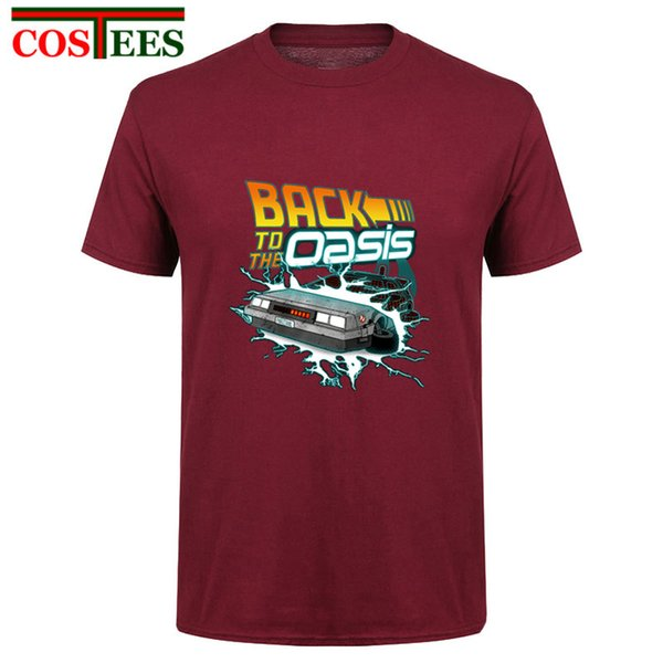 14753147 Back To The Oasis T Shirts for Men Hotline Miami ready player Customized  graphic Printed T
