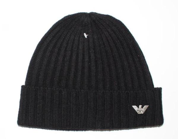 Новые Мужская Зимняя Мужская вязаная шапка мужская мода шапочки горро женщины теплые случайные открытый лыжные черепа шапки