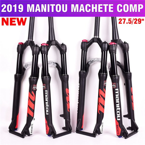 Bisiklet Çatal Manitou Pala Comp Marvel 27.5 29er boyutu hava Çatallar Dağ MTB Bisiklet Çatal süspansiyon Yağı ve Gaz SR SUNTOUR