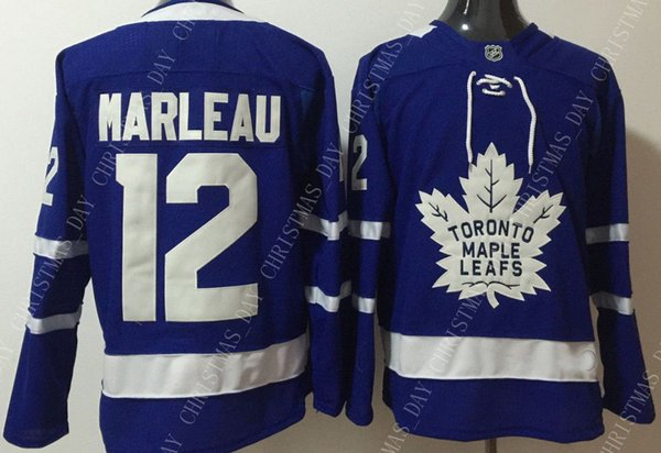 hot sales 034a8 c7084 2019 Custom PATRICK MARLEAU MENS BLUE JERSEYS NEW TORONTO MAPLE LEAFS  Stitch Personality Any Number Name From Christmas_day, $32.65 | DHgate.Com