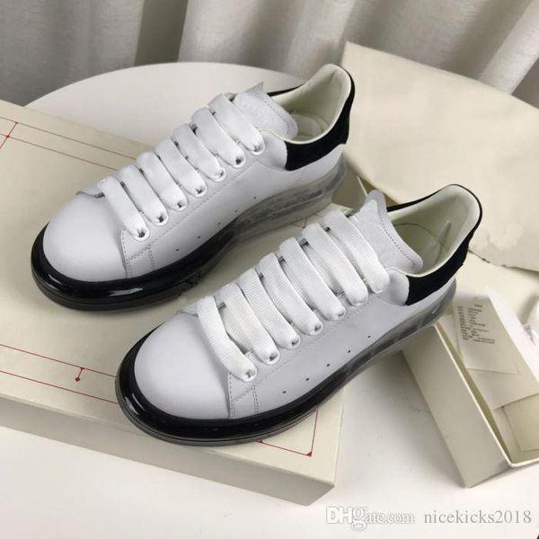 Nouveautés cristal coloré Chaussures Hommes Casual Mode Plate-forme de luxe de femmes Chaussures de sport en cuir vintage Chaussures Espadrilles Entraîneur