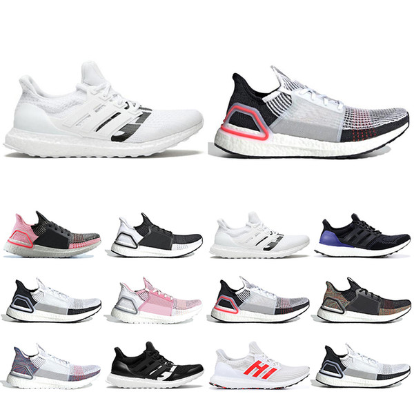 2019 Ultra boost 19 running shoes for men women Cloud white black Oreo ultraboost 5.0 mens trainer runner sneakers sports