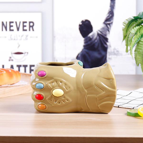 Marvel Thanos керамическая 3д чашка 650мл бесконечность перчатки кружка керамические кружки кофейные кружки Уничтожить большие кружки воды Перчатки чашка LJJA2533