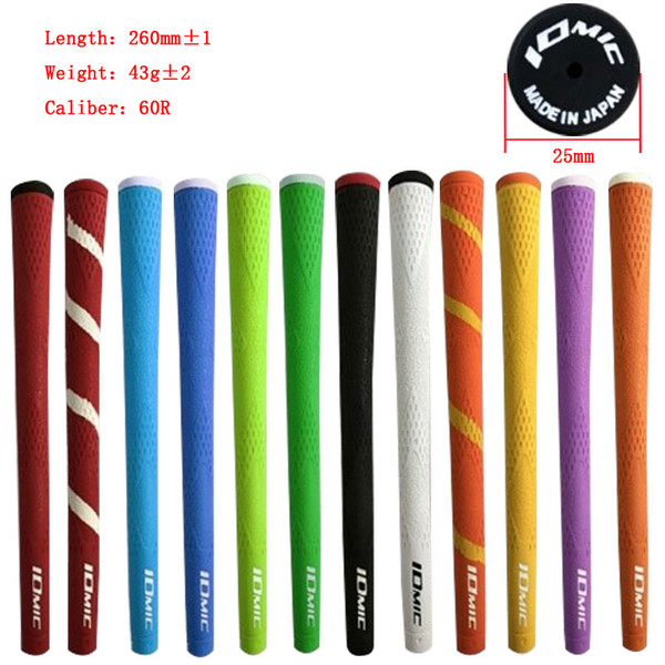 best selling IOMIC Golf grip rubber Golf irons grips 12 colors for choose Golf clubs grips Free shipping