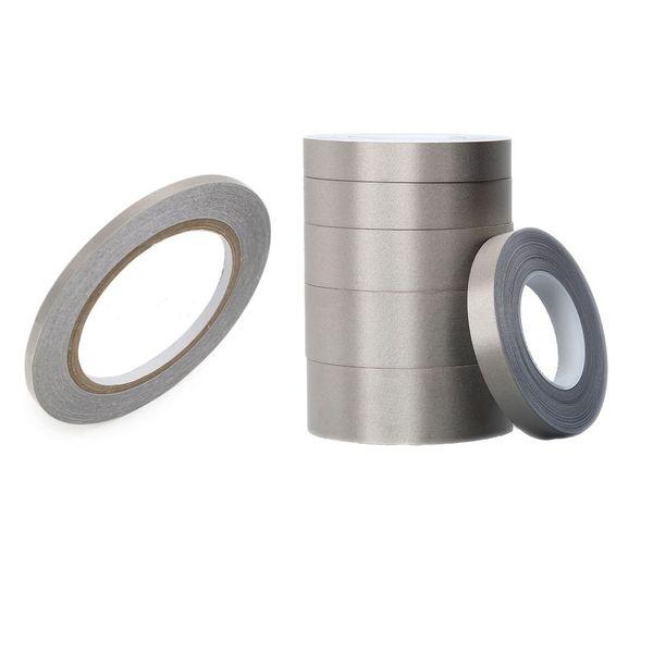 40mm*50M Conductive Fabric Tape EMI Shielding Tape Single Side Ni-Cu Plated Conductive Cloth Conductive Adhesive Tape for Electronics