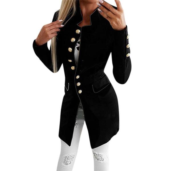De Invierno Compre Bolsillos Formal Mujer Chaqueta Abrigo 2018 wwYvxZq d6c40b863e79