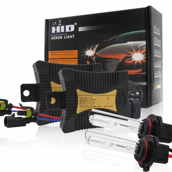 New 2pcs 9005/HB3/H10 Xenon HID Headlight Light Bulbs With Ballasts 6000K/8000K/10000K/12000K Conversion Kit Car 55W Xenon Light