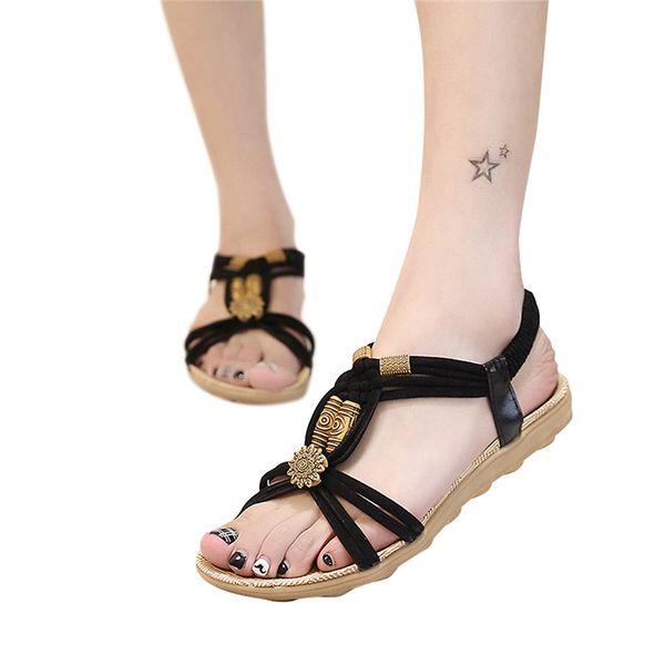 Heel Flat Black
