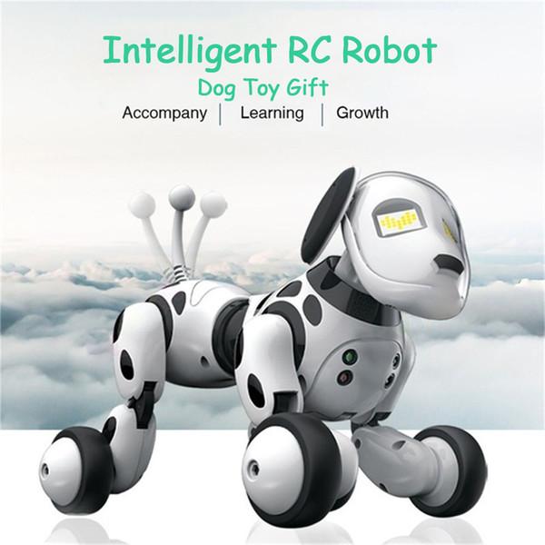 2.4G Télécommande Sans Fil Intelligent Robot Chien Enfants Jouet Intelligent Parler Robot Chien Jouet Électronique Pet Cadeau D'anniversaire