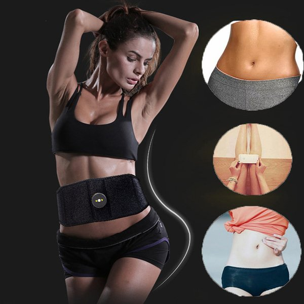 Fitness Massager Fit Vibration Abdominal Muscle Trainer Body Slimming Machine Fat Burning Abdominal Loss Exercise Belt