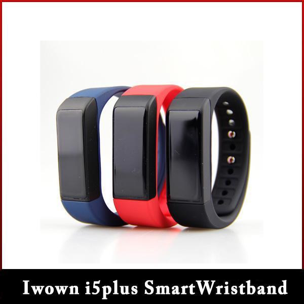 new2016 Popolare Iwown i5plus Smart Wristband per Andriod Phone, Ios schermo del telefono OLED 0.91 pollici Smart Wristband Freeshipping