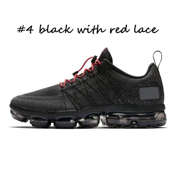 # 4 nero con pizzo rosso
