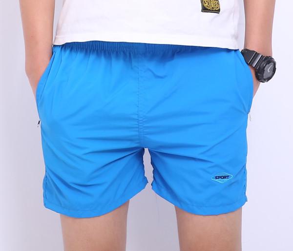 Hommes Noir Blanc Sport Shorts Hommes en vrac court Pantalons Hommes Shorts Pantalon shorts de plage 2pcs / lot