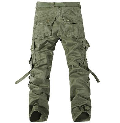 2019 Worker Pants CHRISTMAS NEW MENS CASUAL ARMY CARGO CAMO COMBAT WORK PANTS TROUSERS 6 COLORS SIZE 28-38 Wholesale