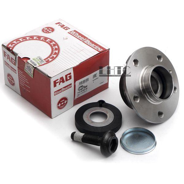 Rear Wheel Hub Axle Bearing Screw Kit FAG For Audi A4 B8 A5 A6 C7 FWD 8K0598611