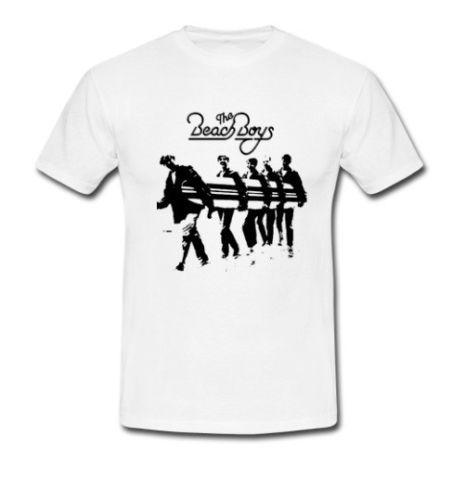 The Beach Boys tee rock band California Music The Flames S M L XL 2XL 3XL Tshirt Cool Casual pride t shirt men