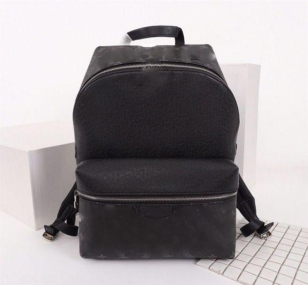 New free shipping luxury women men Designer brand water ripple backpack leather fashion travel bag computer bag cool 41*47*13M41379 u logo