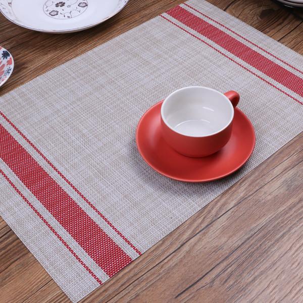 Tapis de protection de l'environnement en PVC et coton japonais imitation japonaise isolant thermique Rainbow Bar Patterns Tapis de protection antidérapant