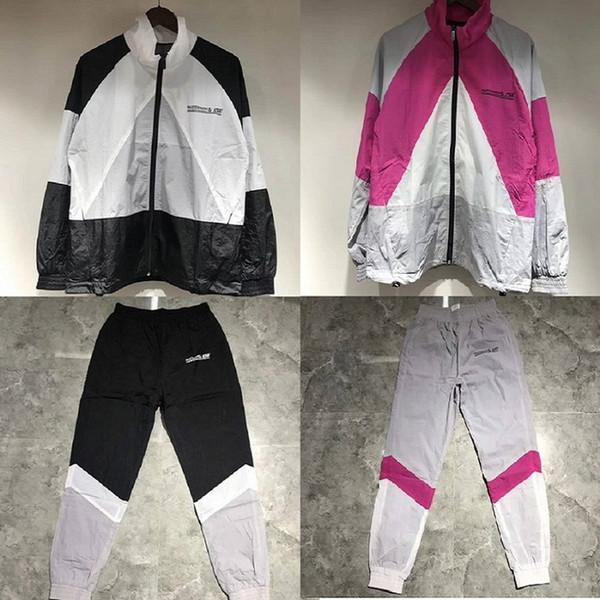 19ss Vetements Couture Vestes Pantalons Hommes Femmes Manteaux Combinaisons Sport Vestes Streetwear Vetements Bomber Vestes Pant