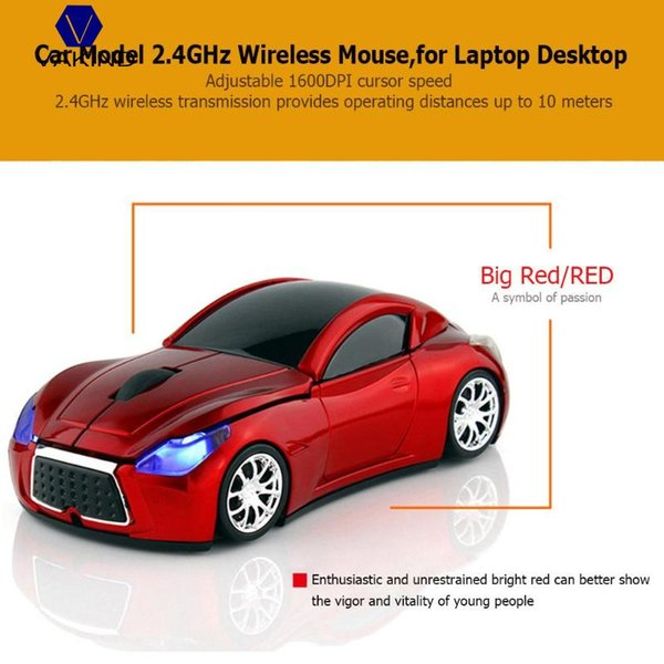 2019 VAKIND Car Model Shape Gaming Mouse 2 4GHz Wireless Game Mouse  Adjustable 1600DPI Laptop For Computer For Macbook From Freshgreen, $20 32  |