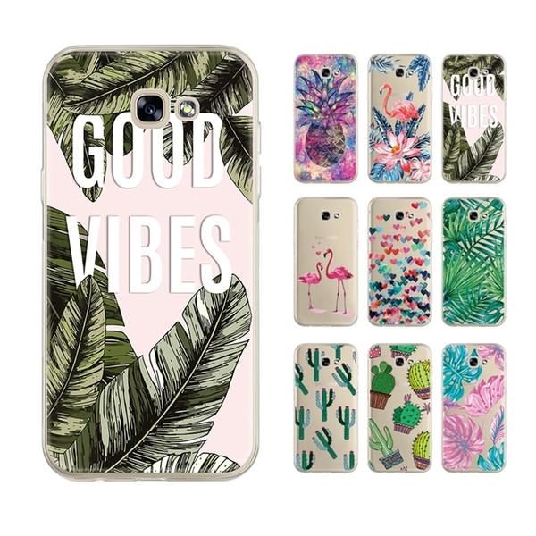 Soft Tpu Phone Case For Samsung Galaxy A7 A5 A3 J3 J5 J7 A8 A6 Plus J4 J6 A9 Star Note 8 Note 9 Bumper Cover Case