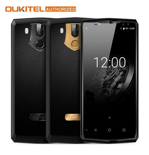 "OUKITEL K10 6.0"" 18:9 Display 6G RAM 64G ROM 11000mAh 5V/5A Quick Charge MTK6763 Fingerprint NFC Face ID Quad Cameras Smartphone"