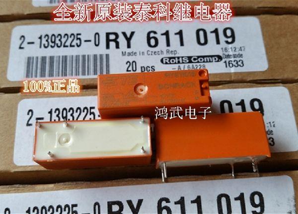 Original Encadernação Ry611019 19VDC Tyco Elevador. peças Relé