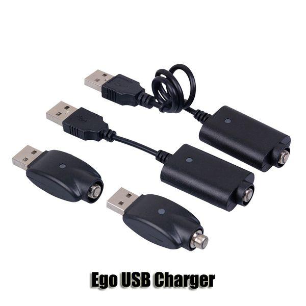 Ego USB cigarro Carregador eletrônico E Cig sem fio Chargers Cabo Para 510 Ego T C EVOD visão torção girador 2 3 mini-bateria