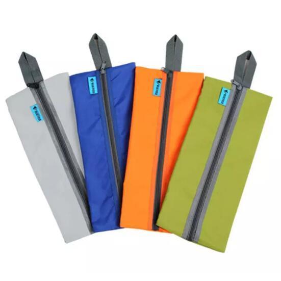 4 Farben Durable Bluefield Ultraleichtflugzeuge Outdoor Camping Travel Schuhe Aufbewahrungsbeutel Wasserdichte Oxford Badetasche Reise Kits CCA10827 60 stücke