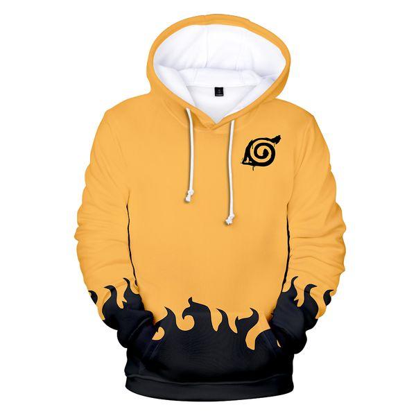 3D Kapşonlu Naruto Hoodies Erkekler Moda Anime Sıcak satış Tişörtü Hoodie Adam Kadın Naruto 3D Hoodies Erkek Sonbahar Kış Giyim