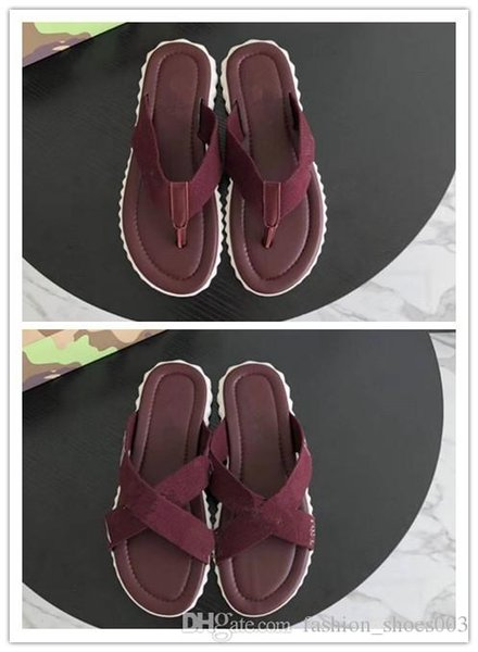 2018 new man slipper,Summer Flip Flops Fashion Design flip-flops Red wine colors ,high quality with 38-44