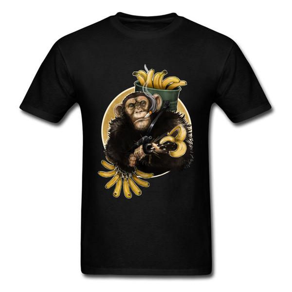war monkey Discount Custom Tops Shirt Round Neck Lovers Day Cotton Short Sleeve T-shirts for Men Summer Sweatshirts