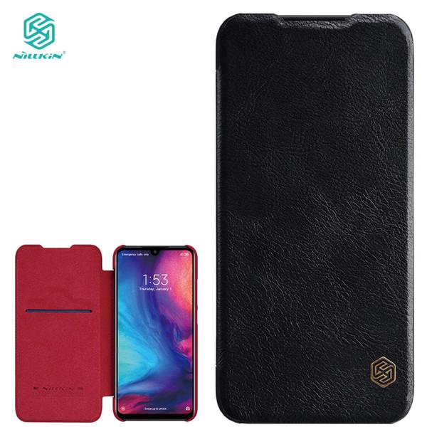 Nillkin Qin Series Etui En Cuir Pour Xiaomi Redmi Note 7 Flip Cas Téléphone Sacs Véritable Couverture De Luxe Pour Redmi Note 7 Pro T190710