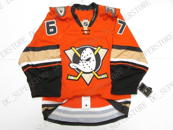 new products 8f44c 820b7 2019 Cheap Custom RICKARD RAKELL ANAHEIM DUCKS THIRD ORANGE JERSEY Stitch  Add Any Number Any Name Mens Hockey Jersey XS 5XL From Dc_superstore,  $28.94 ...