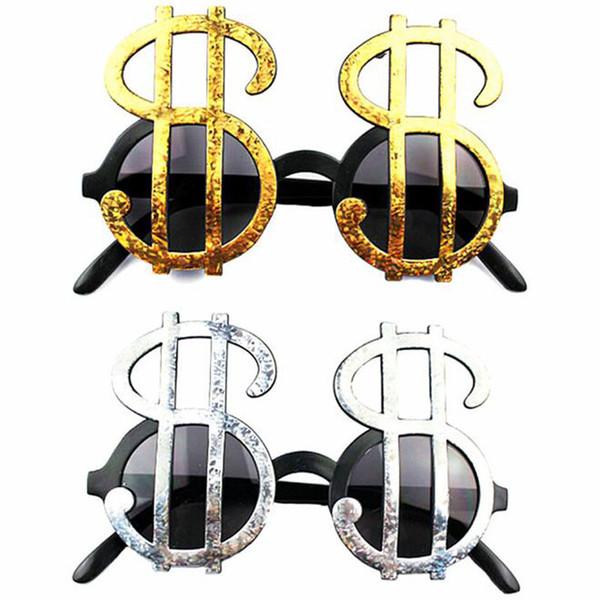 Dollarzeichen Brille Aprilscherz Lustige Brille Maskerade Partei Foto Requisiten Partei Liefert Schnelles Verschiffen QW9733